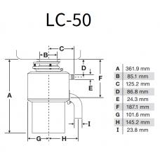 Модель LC-50| InSinkErator