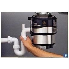 Набор фитингов и труб для подключения измельчителя InSinkErator